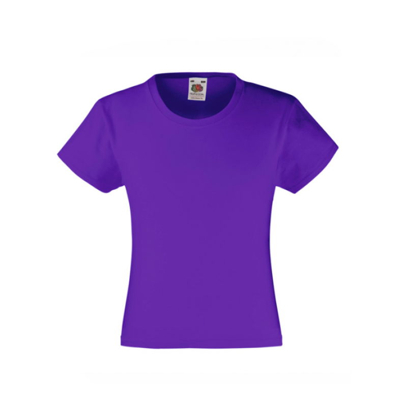 Tricou GIRLS VALUEWEIGHT T  COLORATE