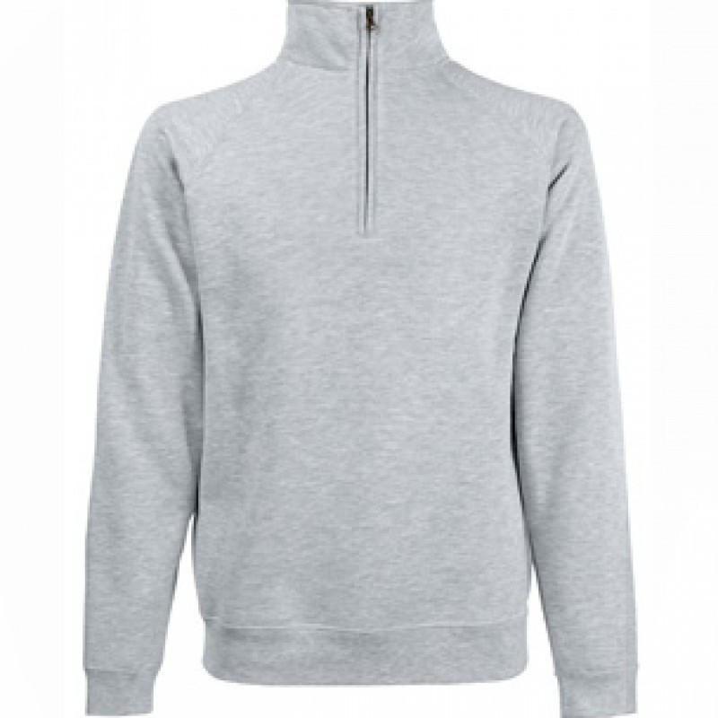 Hanorac CLASSIC ZIP NECK SWEAT MEN colorat