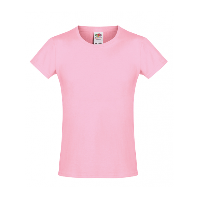 Tricou  GIRLS SOFSPUN® T COLORAT